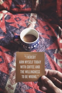 coffee and willingness