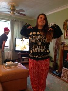 Me Christmas Morning